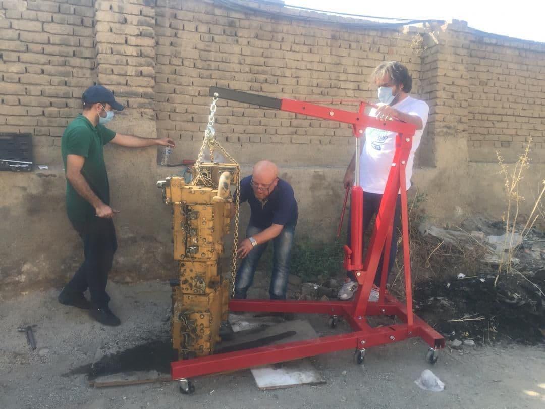 تعمیرات پمپ هیدرولیک توسط آقای جواد سبحانی